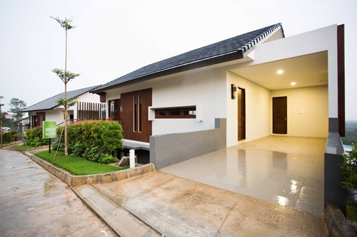 Villa Type Forest House